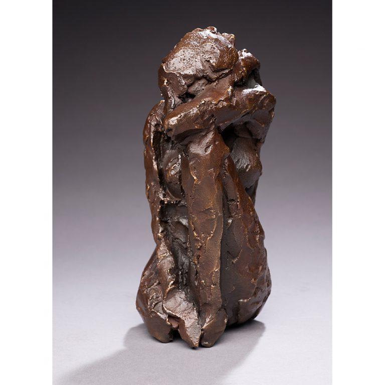 "Meditation, Bronze, Edition of 11, 9"" x 4"" x 5"""