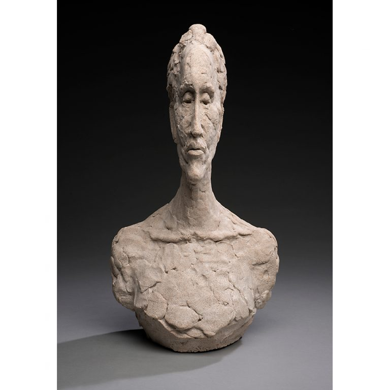 Thin Woman, Concrete, Life-Sized