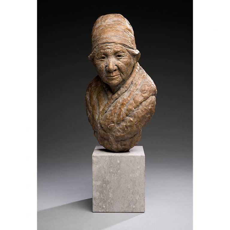 Grandma, Bronze, Edition of 11, Life-Sized